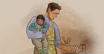 hilfe für väter bei trennung